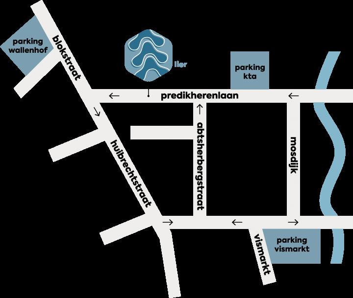 Map bereikbaarheid